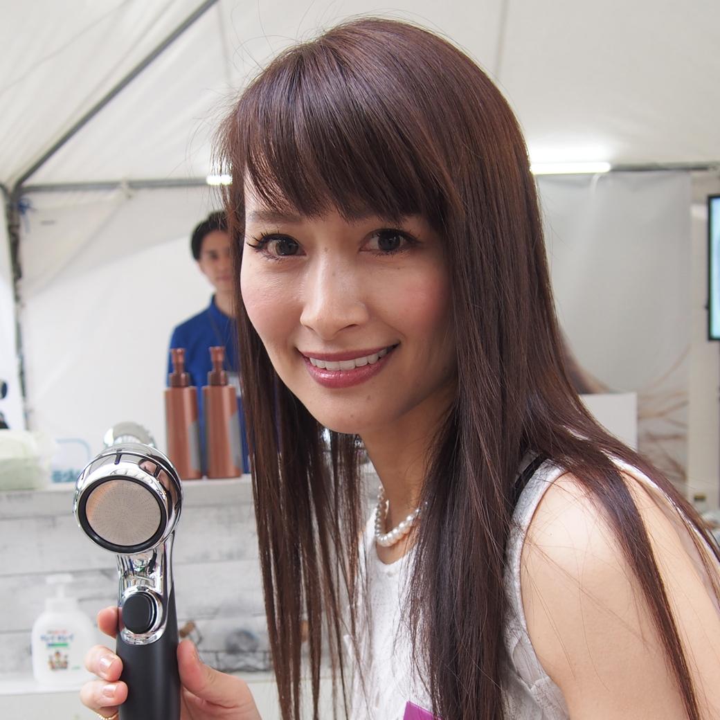 第7回国民的美魔女コンテスト出展ブースレポ⑩三菱レイヨン・クリンスイ