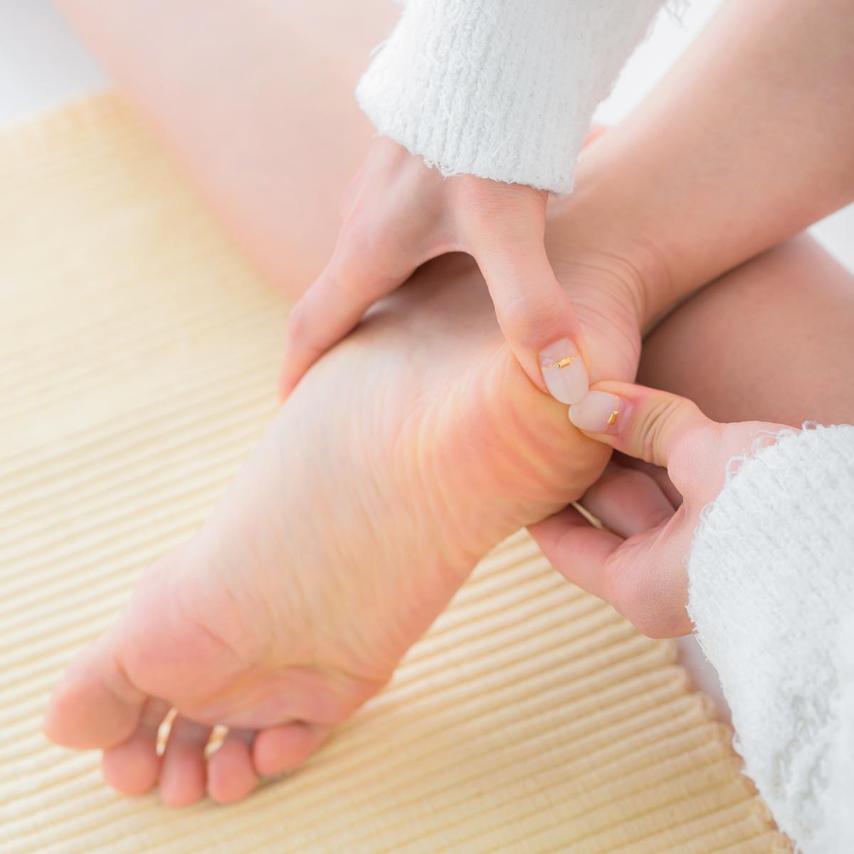 裏 ツボ 痛み の 足