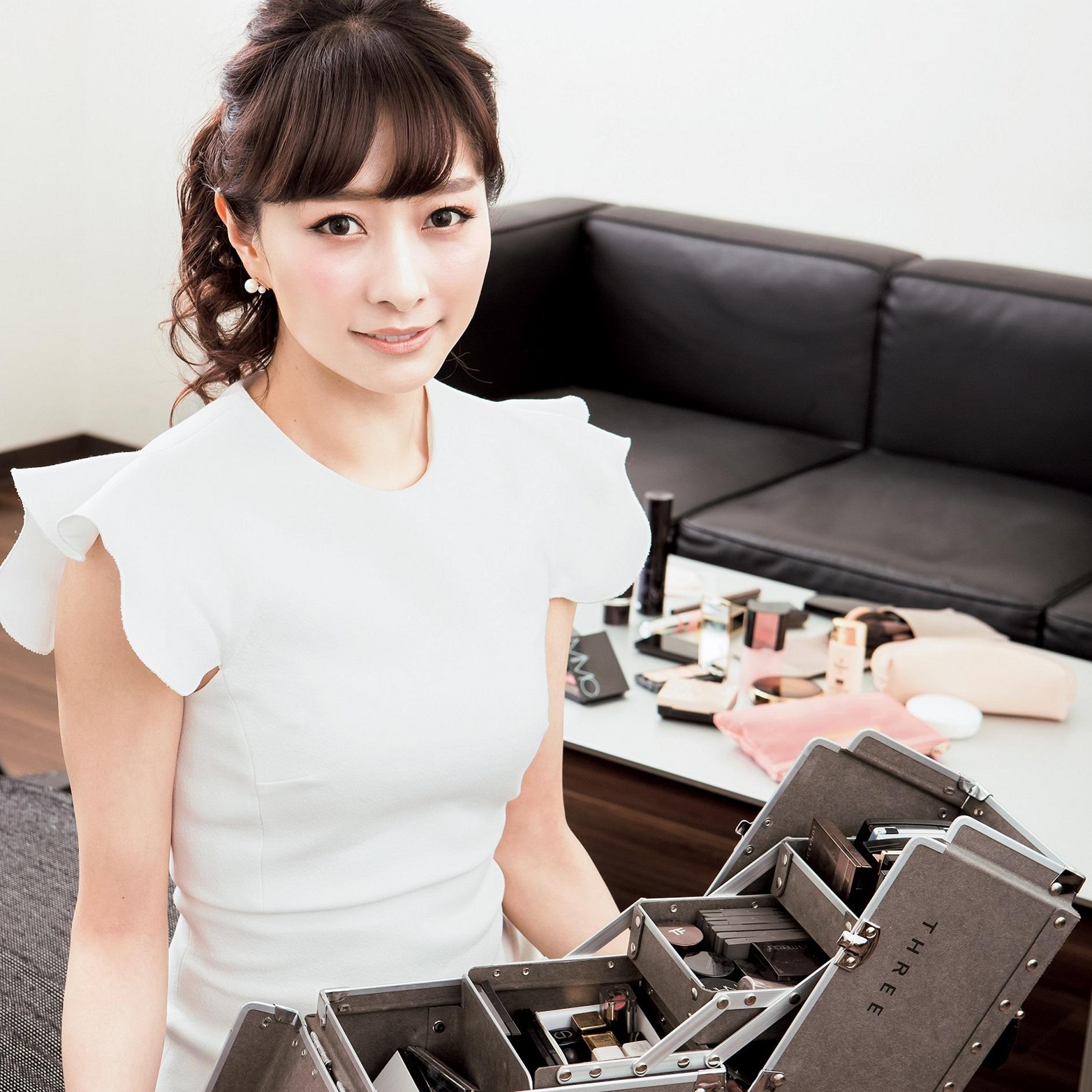 美容家・石井美保さんのメークボックスの中身は?
