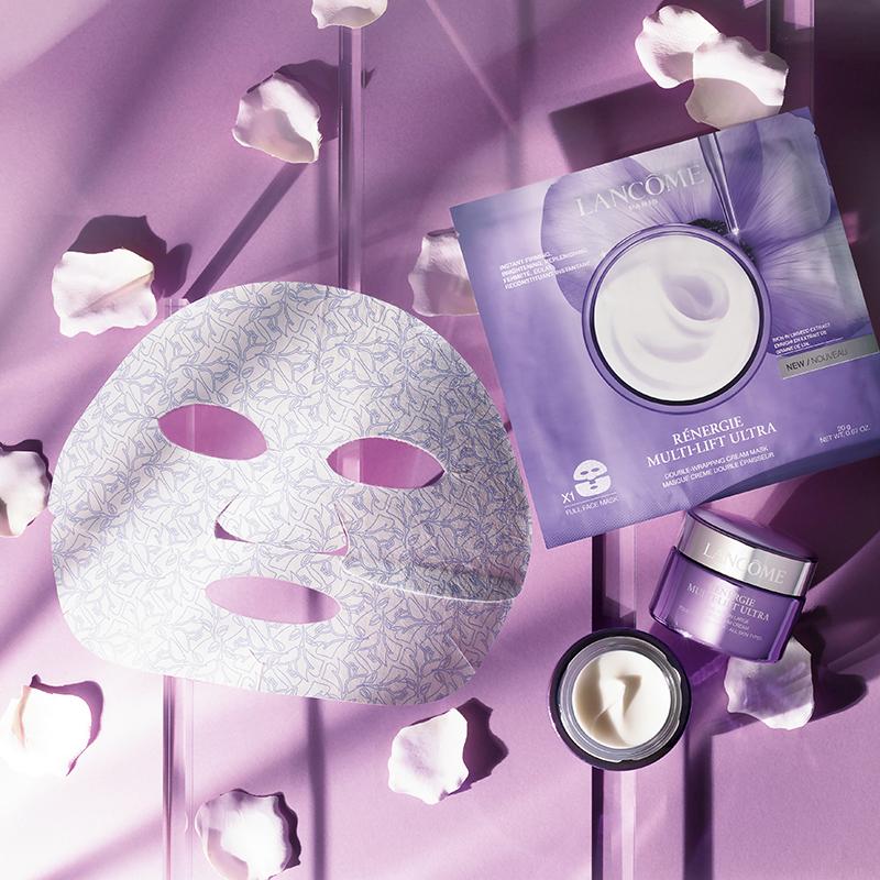 5月絶対買うべきスキンケアは貼るだけで引き上がる!ランコムの新シートマスク