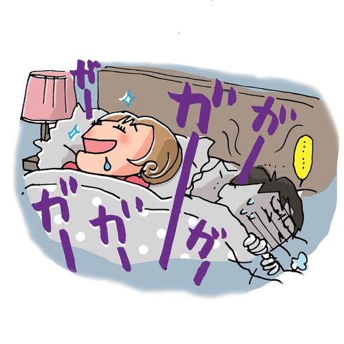 喉 痛い いびき