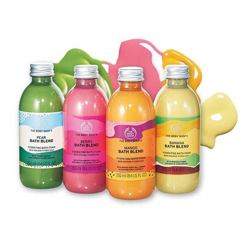 【4/29発売!】まるでスムージー!バスタイムを楽しく彩るジューシィな入浴剤 THE BODY SHOP バスブレンド