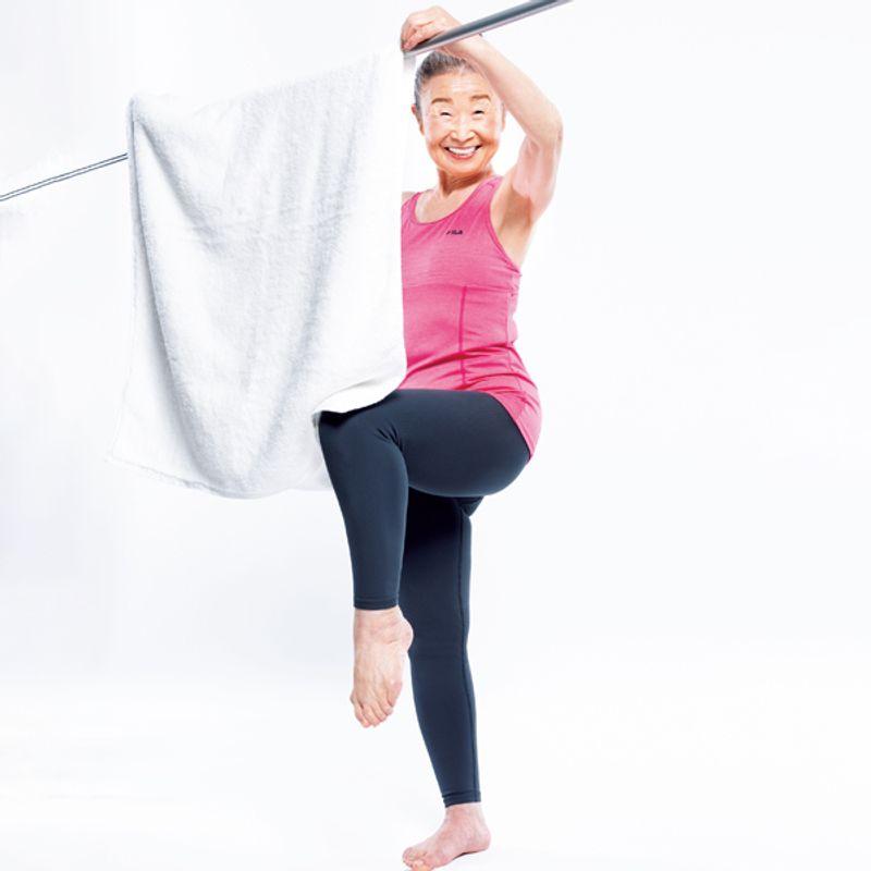 【一生歩ける足】を作るタキミカ体操|日本最高齢フィットネスインストラクター瀧島未香さん(90歳)
