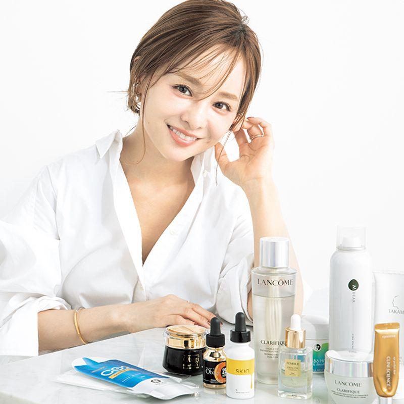 人気インフルエンサー田中亜希子さんの透明白肌を作る【美白ケア】5品