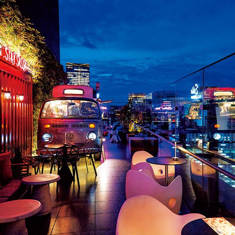 【密回避】都内の夜景が楽しめる開放感満点のルーフトップレストラン3選