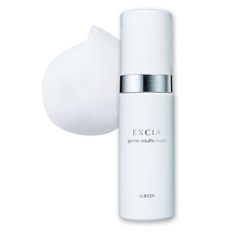 極上のスフレ泡で肌育洗顔 ハリのあるしなやかな感触に EXCIA ジェントル スフレフォーム