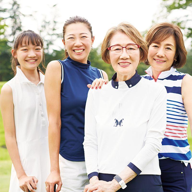 親子4世代でゴルフ! 【87歳の美ばあば】小新井久子さんのはつらつ健康法