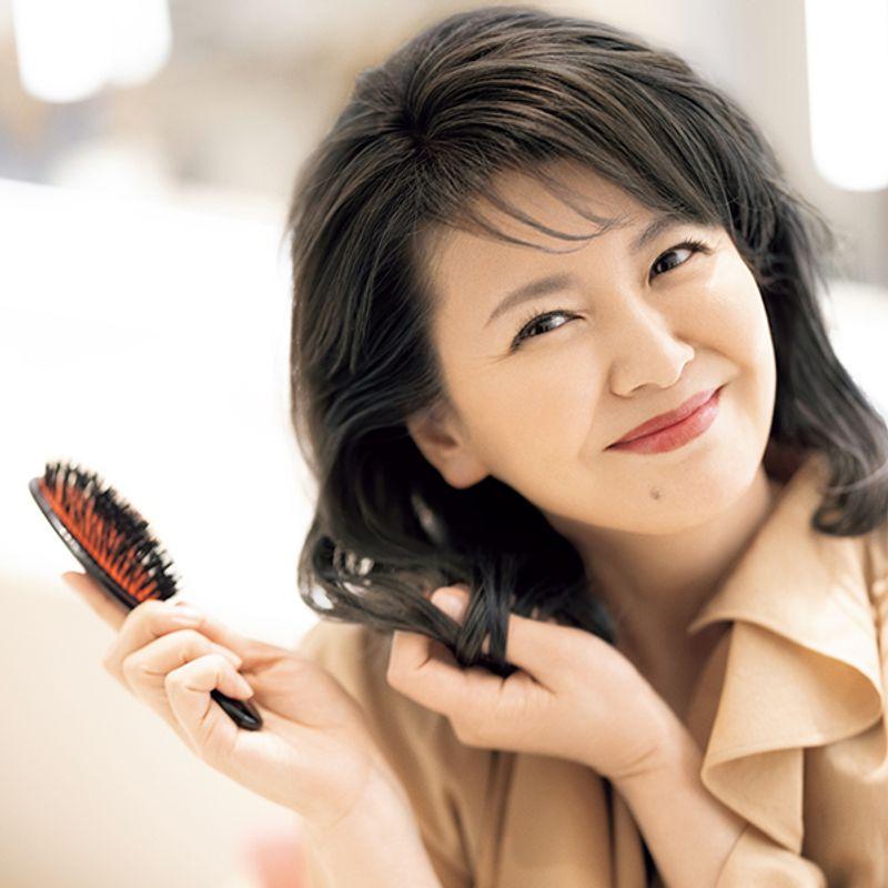 南野陽子さん(53歳)「若く見えると言われるの、好きじゃないんです」 ナンノ流合理主義美容