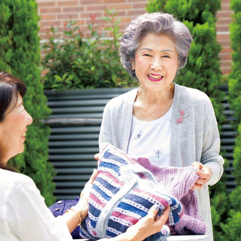 85歳の美ばあば・立花基子さん 楽しい時間を過ごすだけで若返った気がします