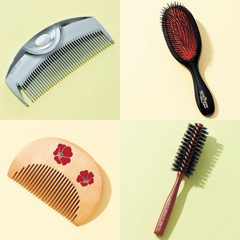 梅雨の髪もするっとまとまる!日本代表 5大美容室のヘアさんが使っている【ヘアブラシ&コーム】4選
