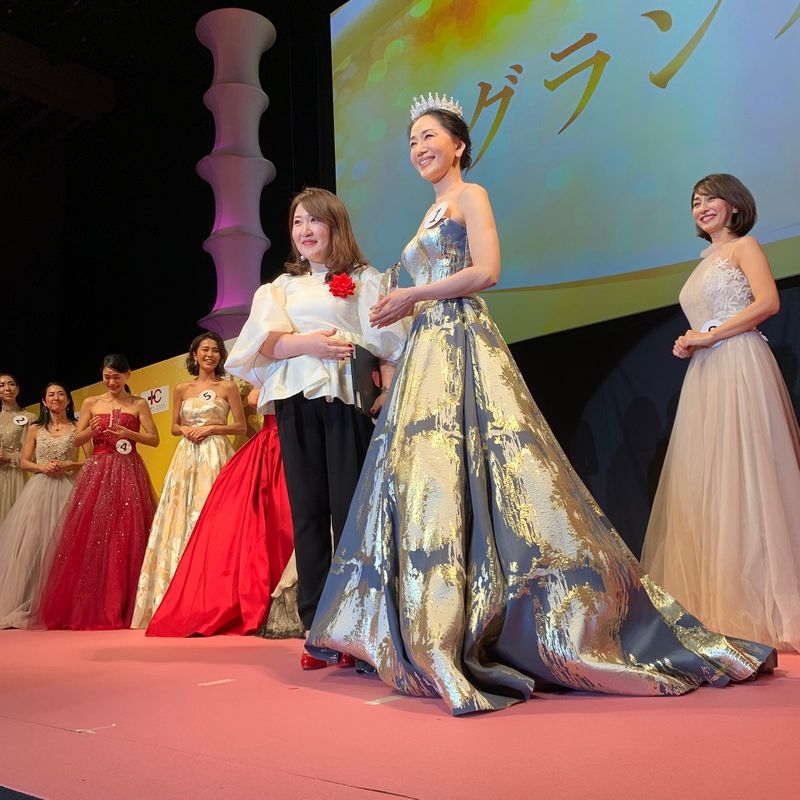 第10回国民的美魔女コンテスト・グランプリは坂村かおるさん52歳に決定!