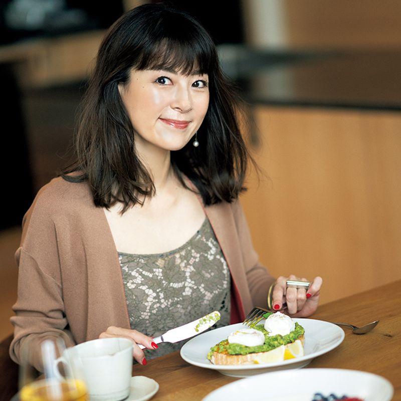 【雑誌JJと今の私】田波涼子さん「鏡に並んで娘との美容タイムは嬉しいひとときですね♡」