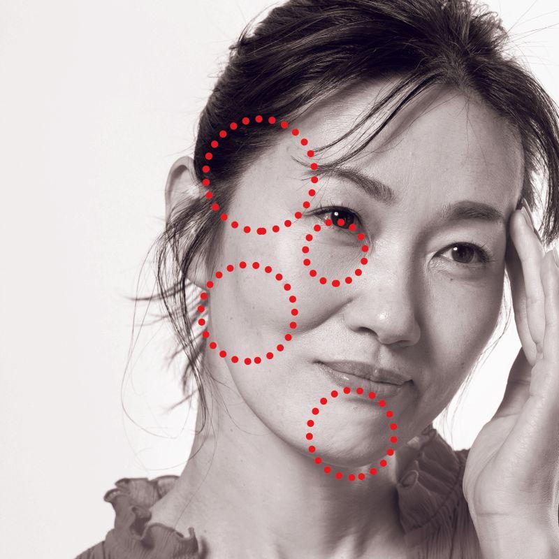 シミよりシワより気にするべき、老け見えの原因【4つの凹み】をコスメで解消!|ビフォー&アフターつき