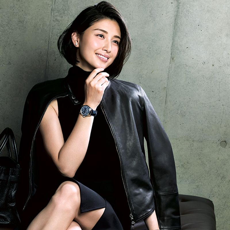 橋本マナミさんが着けるオンナを上げる【ヴァシュロン・コンスタンタンに合う】メーク・ファッション・香水