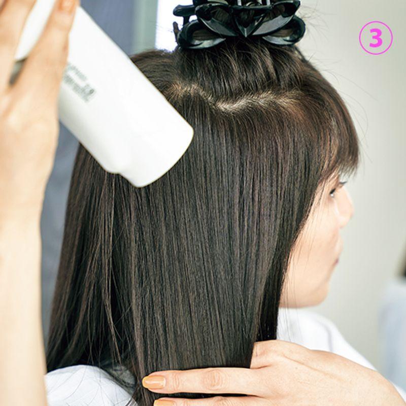 【アラフィフ美髪さんSNAP 】まるでプロのドライヤー使いで天使の輪がキラキラ|小島千恵子さん