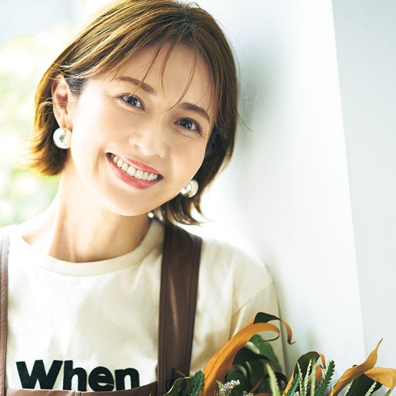【雑誌JJと今の私】畑野ひろ子さん「モデルと〝花〟というライフワークが日々の活力となっています」