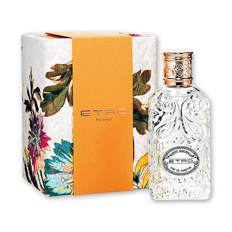 クリーミーなムスクと木蓮の輝きが混じり合う大自然を讃えた春めく香り ETRO ホワイト マグノリア オーデパルファム