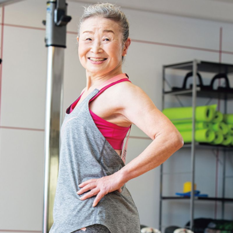 日本最高齢フィットネスインストラクター瀧島未香さん89歳、筋肉ばあばの【タキミカ体操】