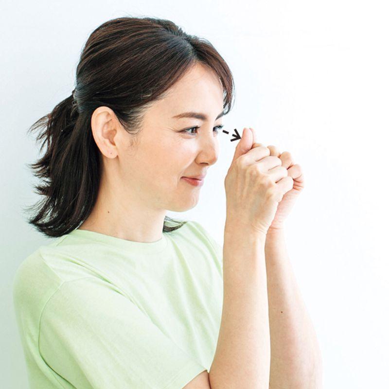 スマホ老眼予防に! 【目がよくなる】簡単ストレッチ