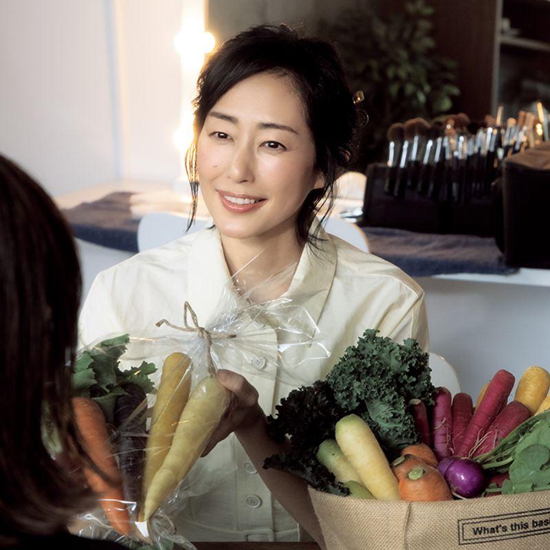 女優・木村多江さんのお味噌汁|野菜を学んで本当の贅沢を知りました