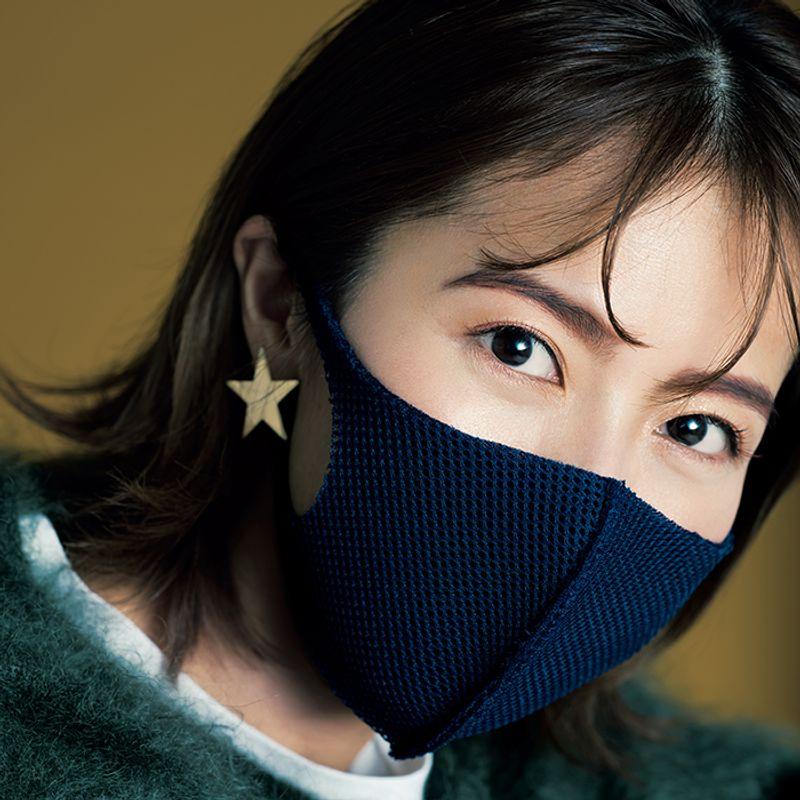ツヤ目元とふわ眉がポイント!マスク着用で簡単・40代の【ハンサムメーク】