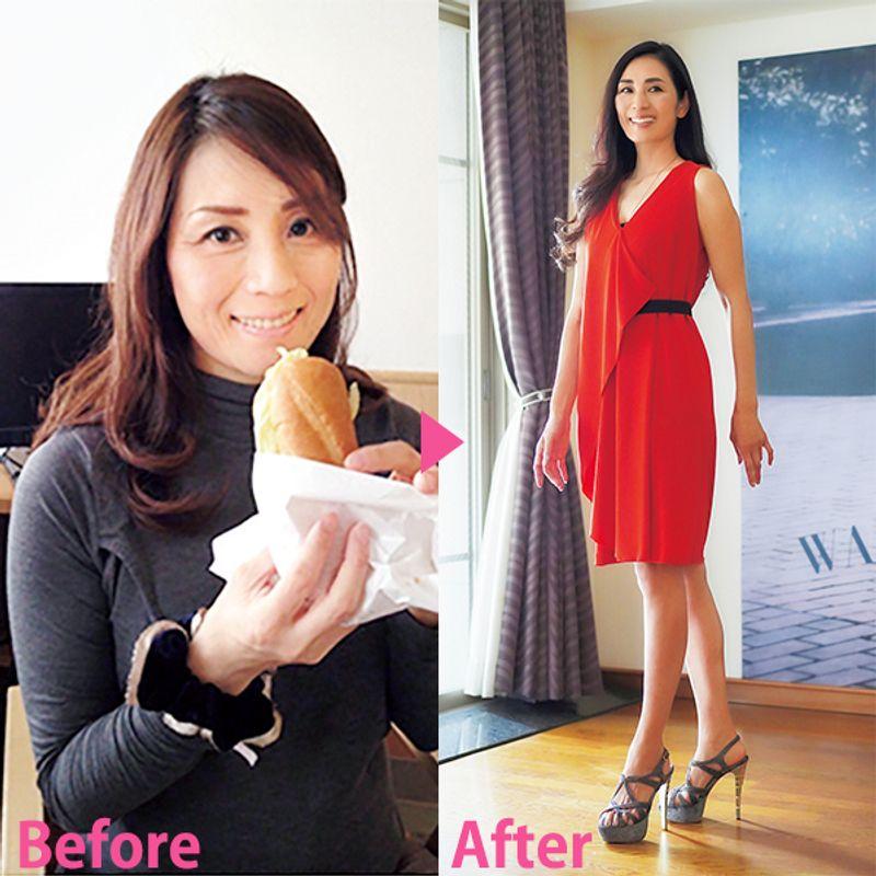 【美魔女のダイエット】美しい歩き方を毎日取り入れて5kg減!|廣沢弘枝さん