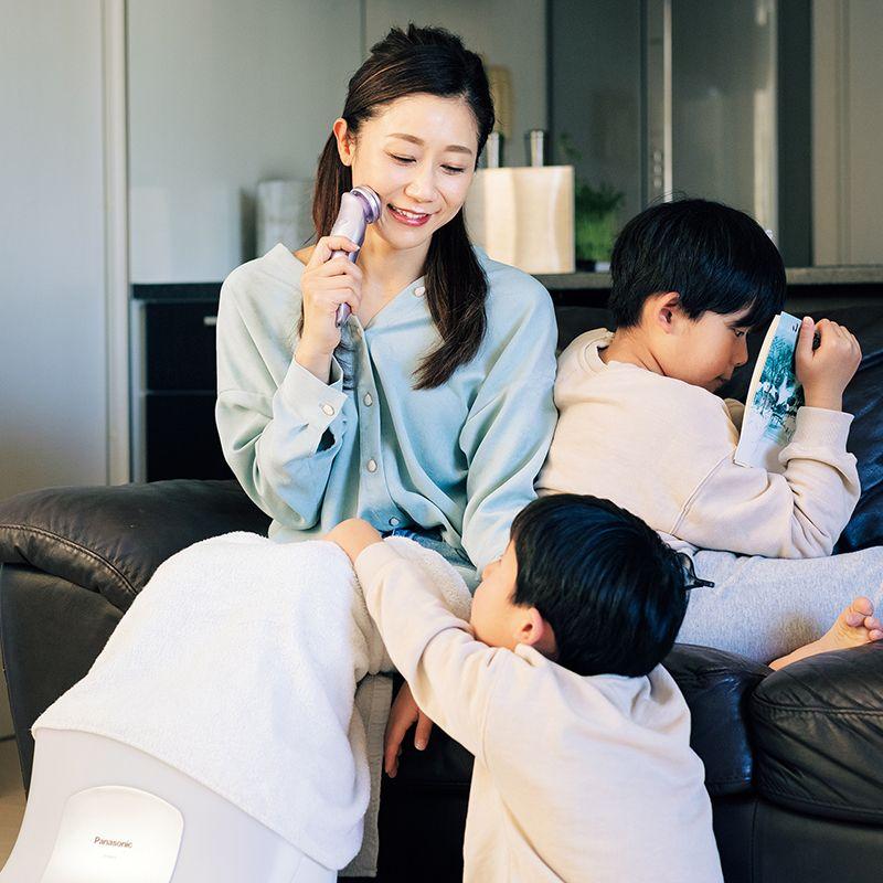 【第11回国民的美魔女コンテストファイナリスト】2人の男の子ママ・持田亜矢子さんのながら美容法