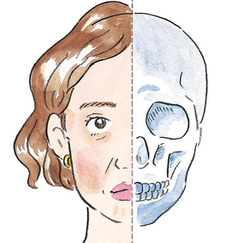 こめかみの窪みは「オバさん」のサイン! 老け見えが加速する顔の「凸凹」問題、傾向と対策