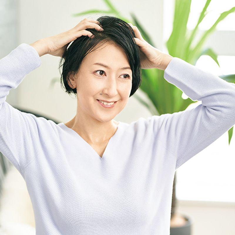 【アラフィフ美髪さんSNAP 】オイルに頼らず髪の内側からしっとりツヤツヤ|吉武 潤さん