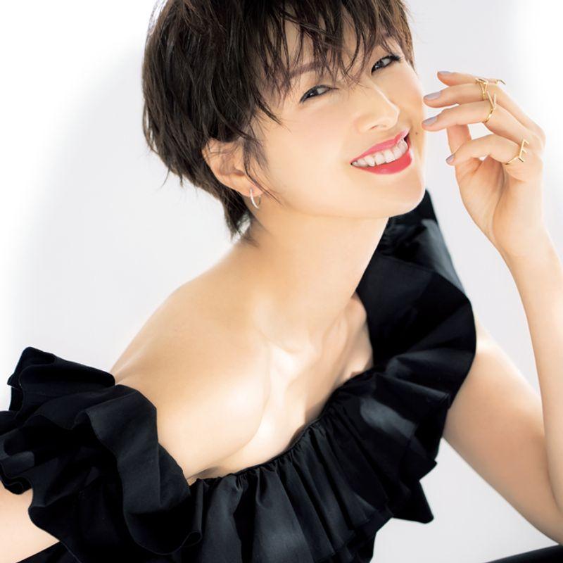 女優・吉瀬美智子さん|カサついたら保湿、太ったら摂生、戻れなくなる前に食い止めるのがポイントです