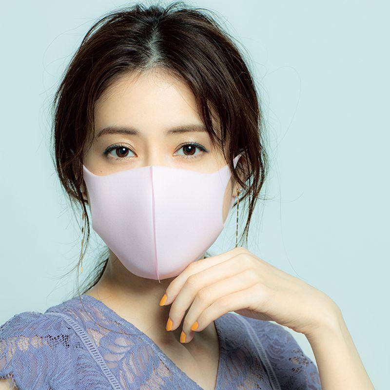 【40代のマスクメーク】ネイビーがアクセント【秋冬の小顔メーク】