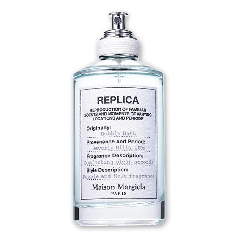 【7/31発売!】新しい「レプリカ」は心身が安らぐクリーンなアロマとソープの香り Maison Margiela Fragrance レプリカ オードトワレ バブル バス