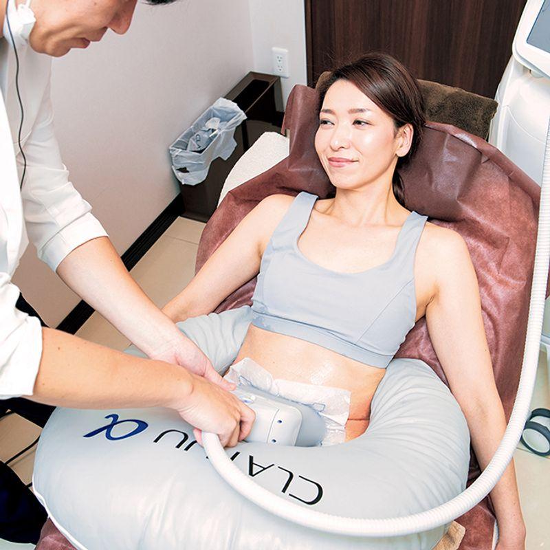 凍らせるか・筋肉増強か。2019年の【最新ダイエット】は美容医療の2大マシンで楽にやせる!