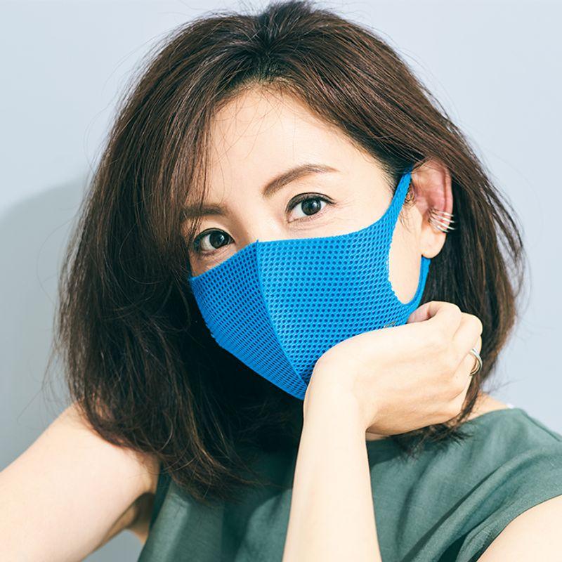 【夏のマスク映えヘアアレンジ】脱スポーティな耳掛けストレート