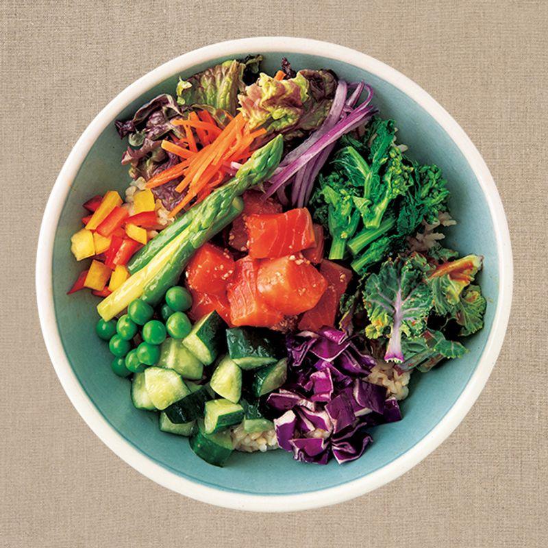 玄米、バスマティライス、フォーを使って美容食に。綺麗になれる【低GIエスニックプレート】レシピ