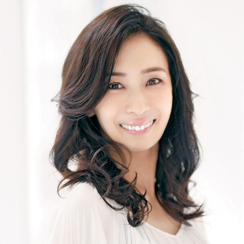 【40代の2020年最新髪型】デジタルパーマで華やかセミロング【ロングヘア】