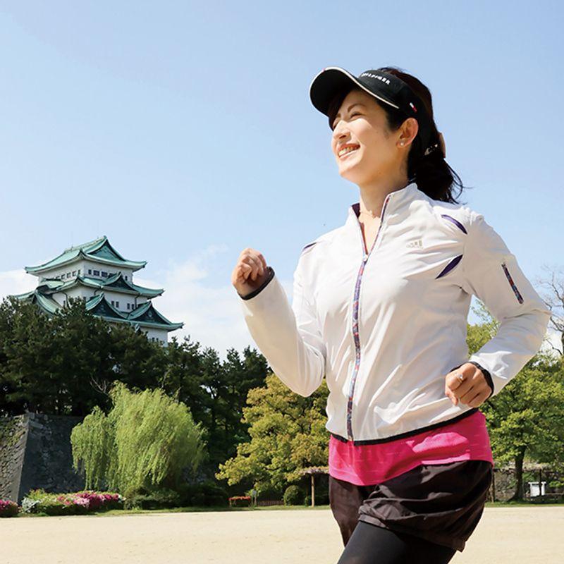 【美魔女の自粛太り解消法】毎日名古屋城ラン5キロで4kg減 吉田佐知子さん