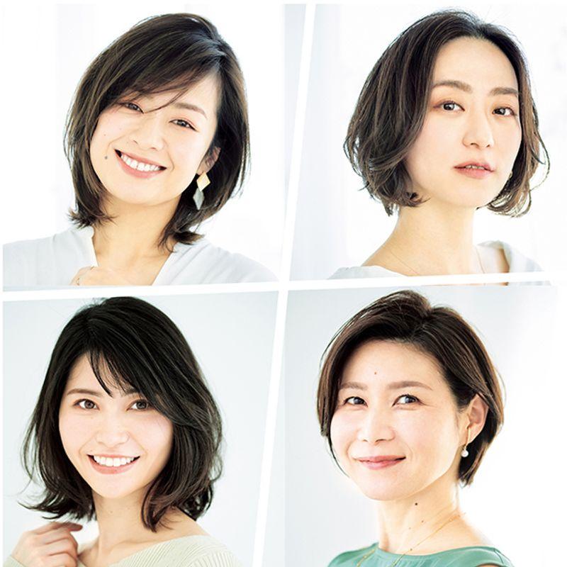 2021年夏【40代髪型人気ランキングTOP10】薄着の季節に支持されたのは首がすっきりみえる小顔効果抜群のボブ&ミディアム