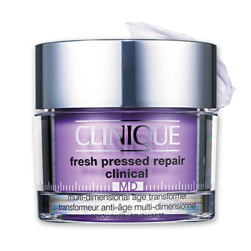 3種のヒアルロン酸で元気を注入して美容医療級にふっくら CLINIQUE フレッシュ プレスト MD リペア クリームV