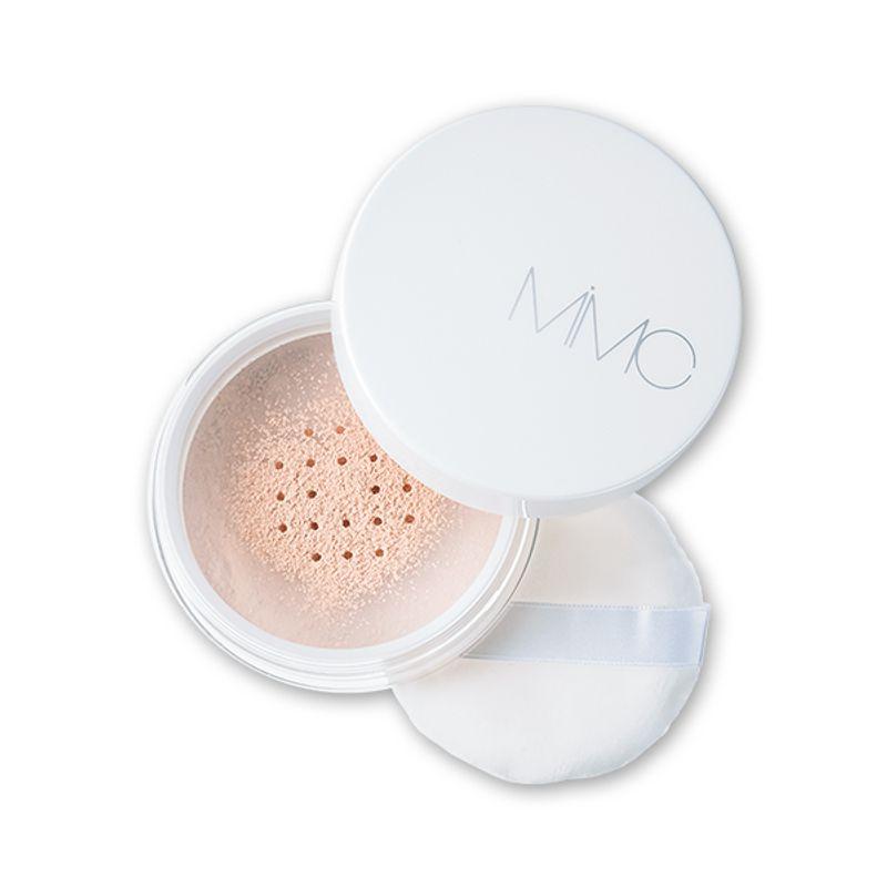 【10/2発売!】陶器肌を装いながら美白まで叶う 美容液UVおしろい MiMC 美白ルースパウダー