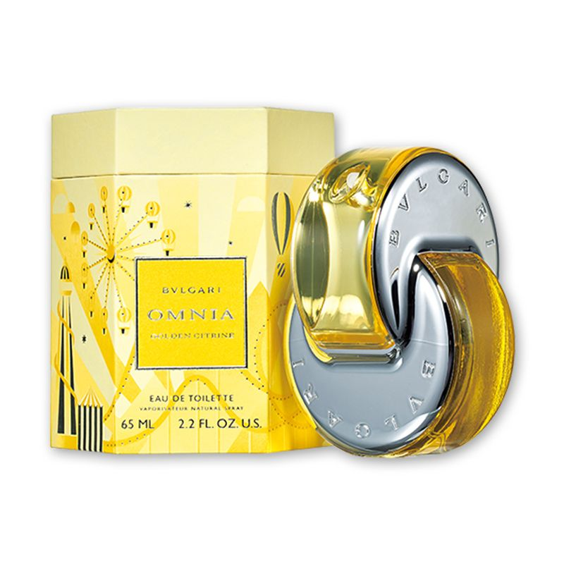 オムニアの新たな香りは、光や楽観性を象徴するゴールデンシトリン BVLGARI オムニア ゴールデン シトリン オードトワレ