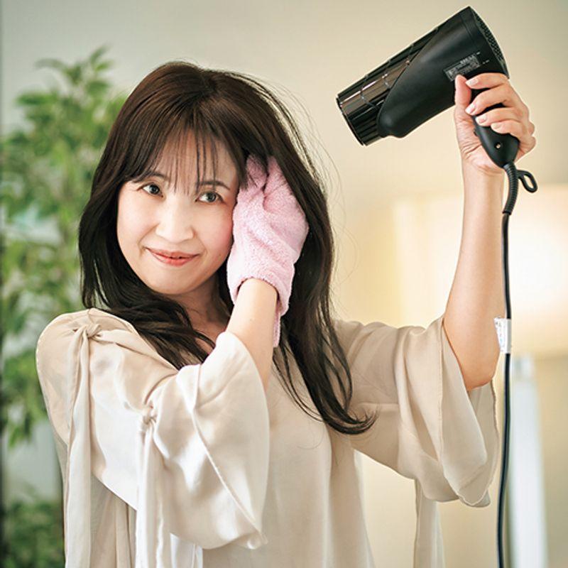 【アラフィフ美髪さんSNAP 】熱ダメージを最小限にすればやわらかなふわふわ髪に|渡邊直美さん
