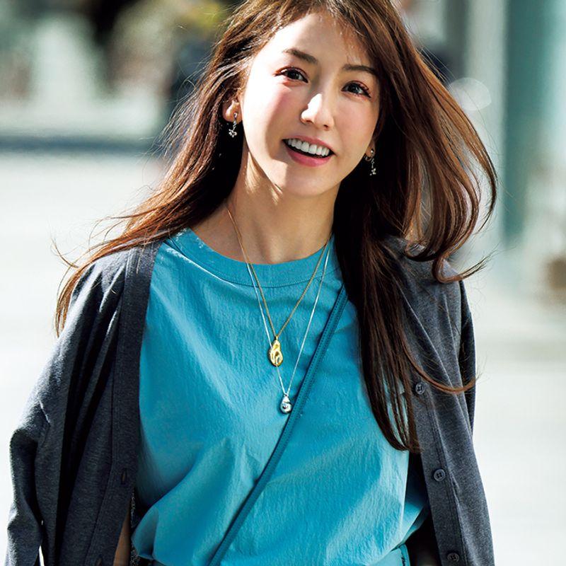 【錯視】で細見え!40代のスタイル美人になれる春夏ファッションコーデ