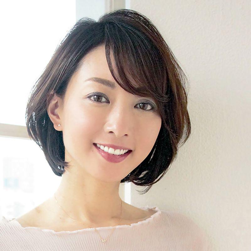 【40代の2020年最新髪型】梅雨時期もお手入れ簡単ショートボブ【ショートヘア】