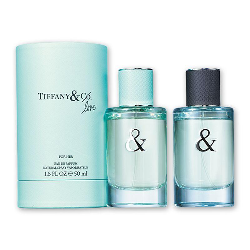 爽やかに調和。ティファニー初のペアフレグランス TIFFANY & Co. ティファニー & ラブ フォーハー オードパルファム 他