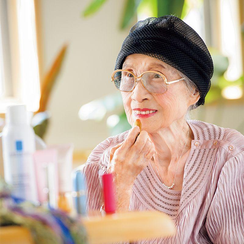美ばあば・田中須恵子さん101歳【美しく長生き】の秘訣