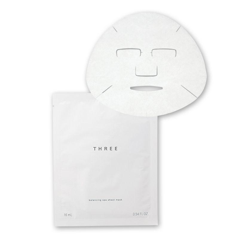 【3/26発売!】マスク疲れした肌にSPA発想の美容液マスクでいたわりのひと時を THREE バランシング スパ シートマスク