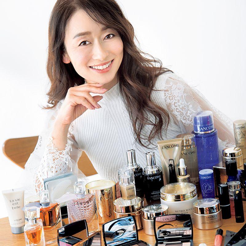 【若見え50代SNAP】「ランコム一筋30年」の一途なケアで30代と変わらない若々しさを|廣瀬由仁子さん(50歳)