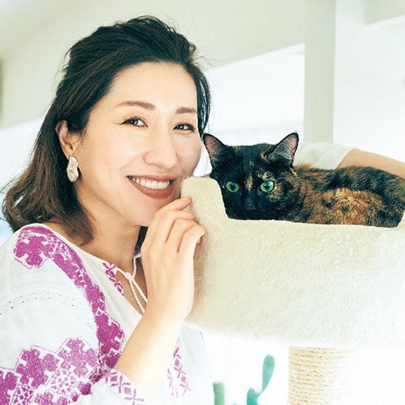 【私と保護猫】ヘア・メーク長井かおりさん「保護猫を引き取って人生のバランスが整いました」
