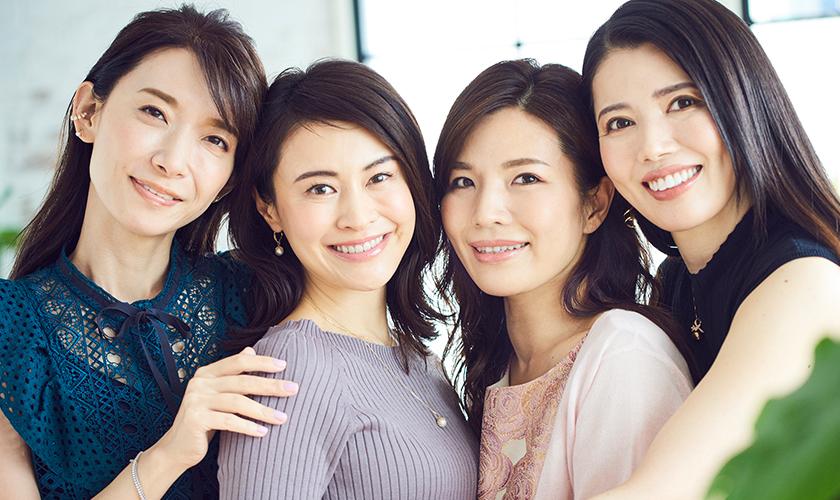 6カ月で肌はもちろん心もトーンアップした! シミウス美魔女4人の「人生変わった!」BEFORE→AFTER